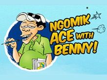 Ngomik Ace with Benny!