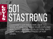 Levis 501 StaStrong