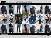 Levis Revel - Let Your Body Talk